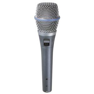 MICROFONO CONDENSADOR BETA87C VOCAL CARDIOIDE