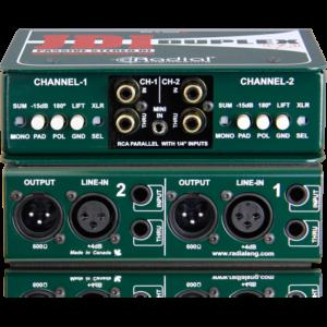 <span>RADIAL</span>CAJA DIRECTA RADIAL JDI DUPLEX PASIVA  DOBLE