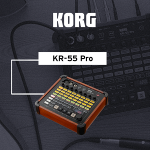 <span>KORG</span>CAJA DE RITMOS Y MIXER KORG KR-55 PRO  3CH