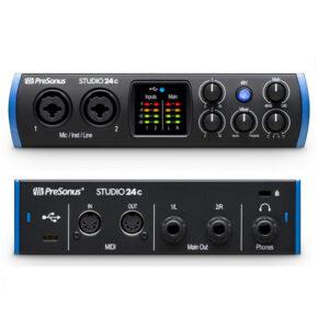 <span>PRESONUS</span>INTERFAZ DE AUDIO USB-C PRESONUS STUDIO24C