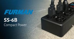 Lee más sobre el artículo Cuatro beneficios de la SS-6B de Furman: Protección eléctrica en cualquier lugar