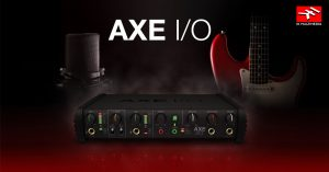 interfaz de audio AXE i/O ik multimedia