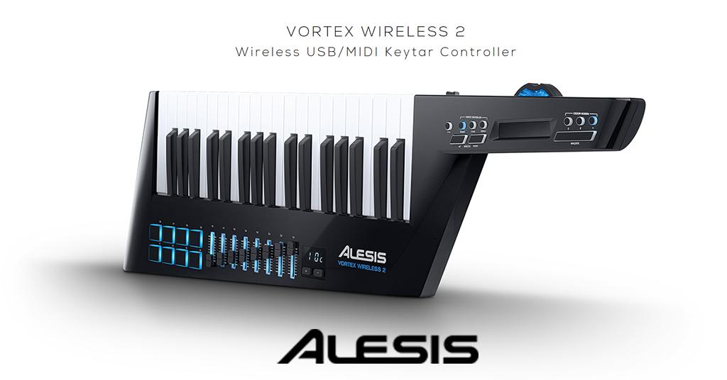En este momento estás viendo Música sin ataduras: Keytar Controlador MIDI – USB Vortex Wireless 2