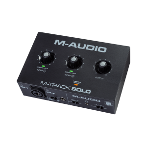 <span>M-AUDIO</span>INTERFAZ DE AUDIO M-AUDIO M-TRACK SOLO II