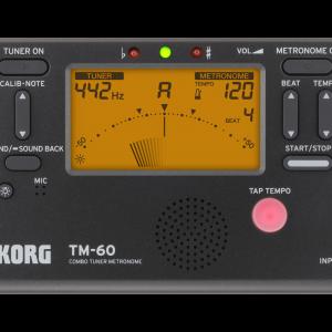 <span>KORG</span>AFINADOR METRONOMO KORG TM-60-BK