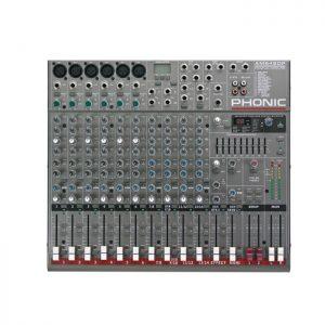 Mezclador PHONIC AM642DP DE 6 CH MIC/LINE Y 4 CH ESTEREO