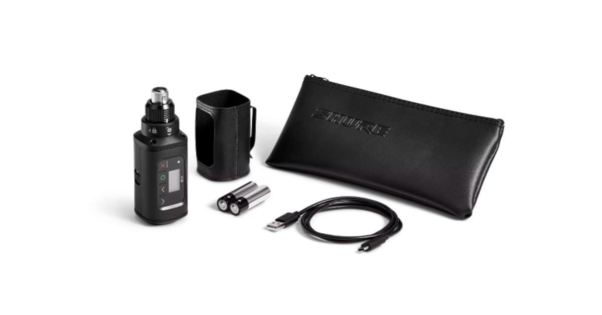 En este momento estás viendo Shure amplía la gama Axient® Digital con el nuevo transmisor Plug-on AD3